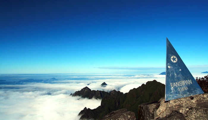 The top of Fansipan