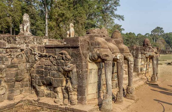 A part of Elephent terrace
