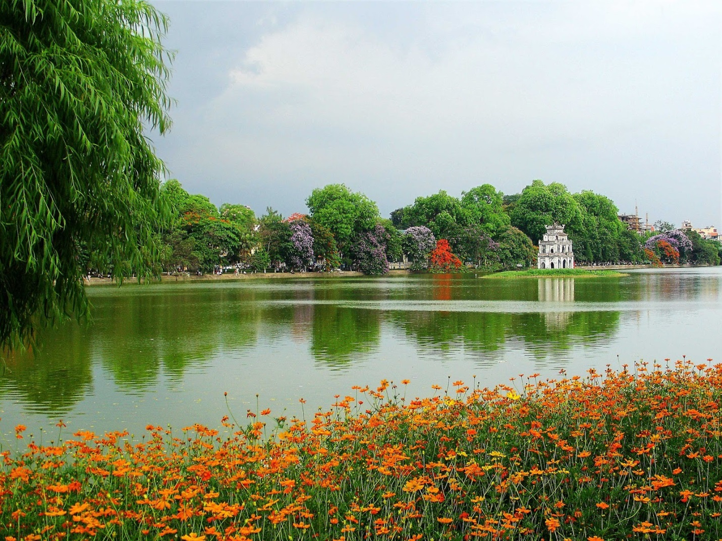 Hoan Kiem Lake- a famous destination in Hanoi