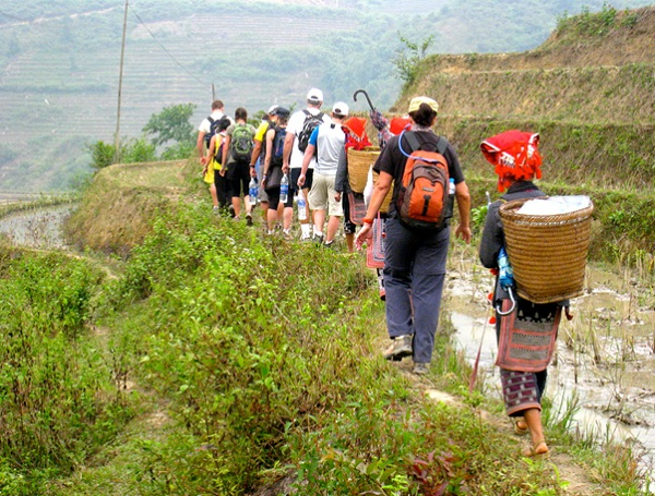 Sapa hiking trails