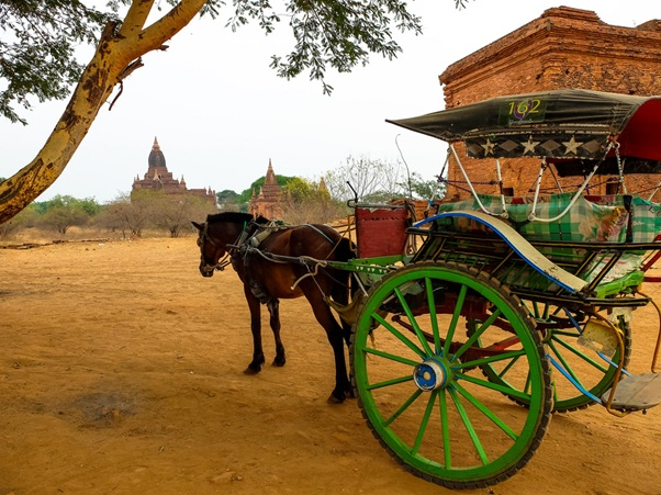 Bagan by cart