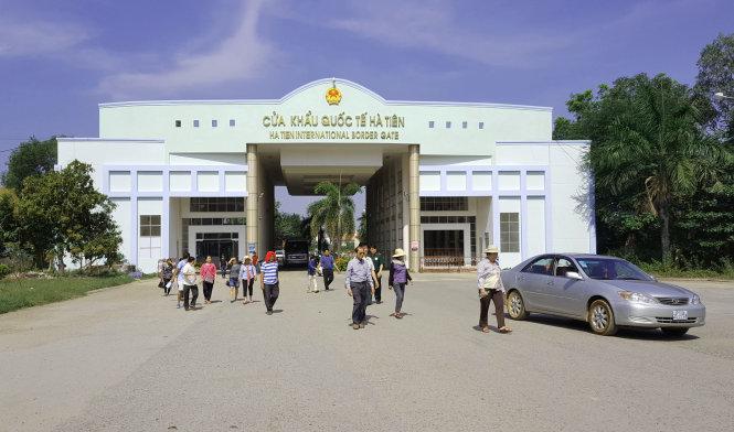 Ha Tien International border gate