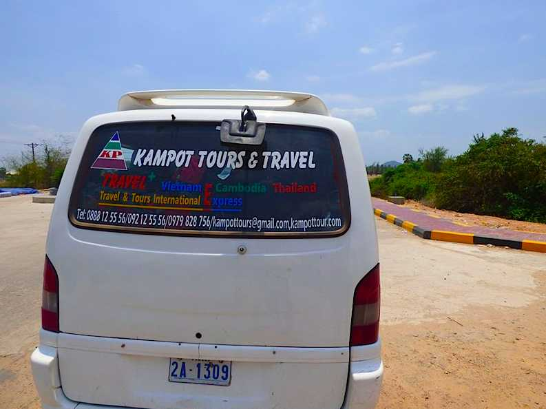 Travel from Kampot to Kep