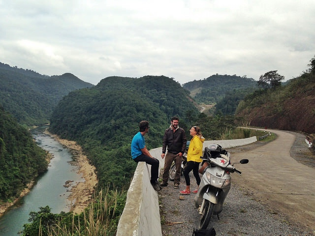 Riding a motorbike is the best way to discover Vietnam