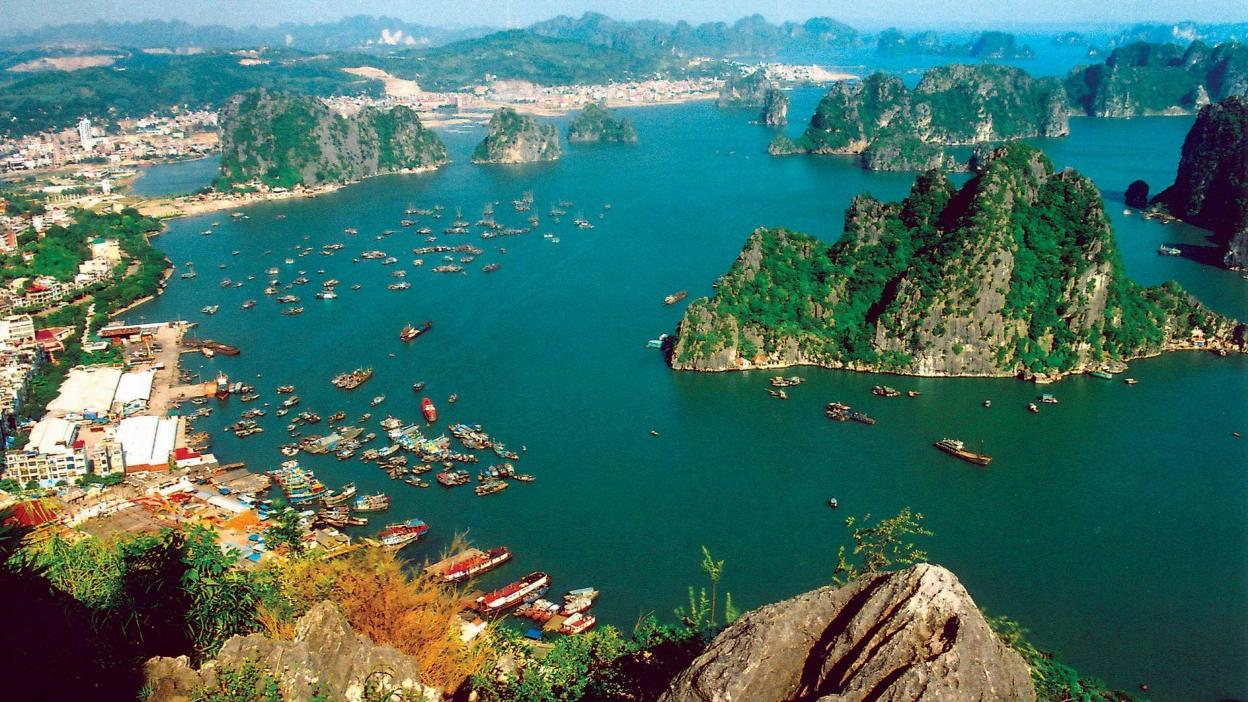 The beauty of Halong Bay contributed to the success of Kong Skull Island