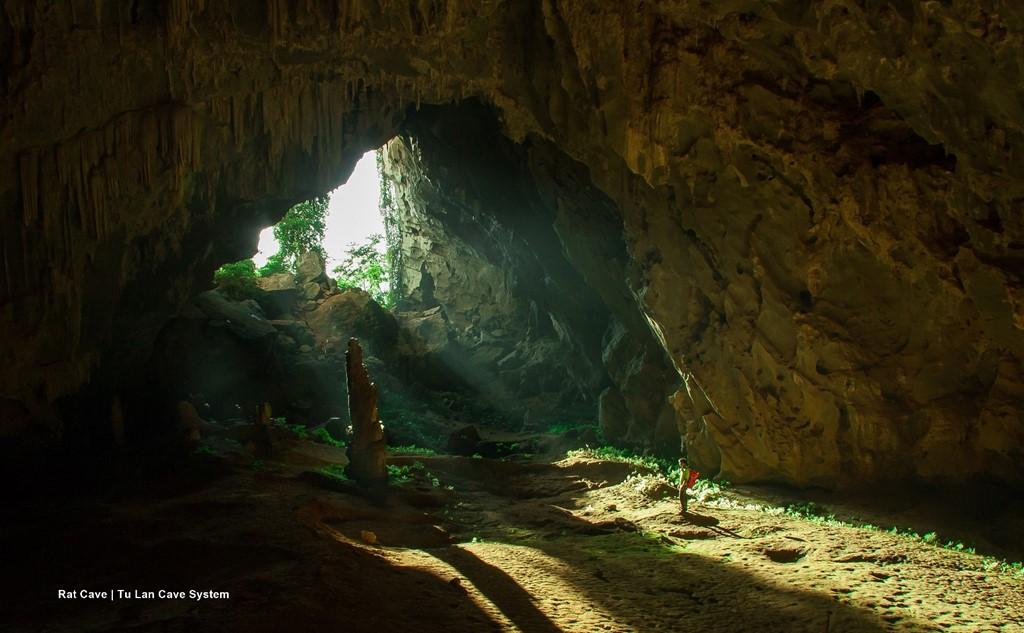 Tu Lan cave in Quang Binh