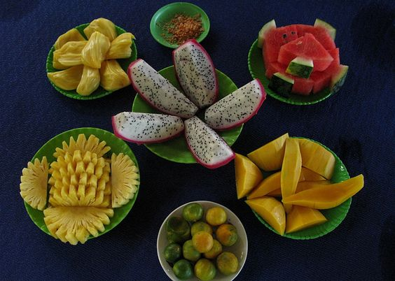 Tropical fruit in Vietnam