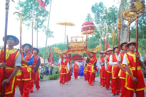 Hung Kings Temple Festival in Vietna