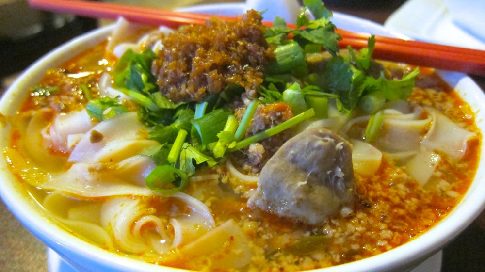 Laotian Noodle soup