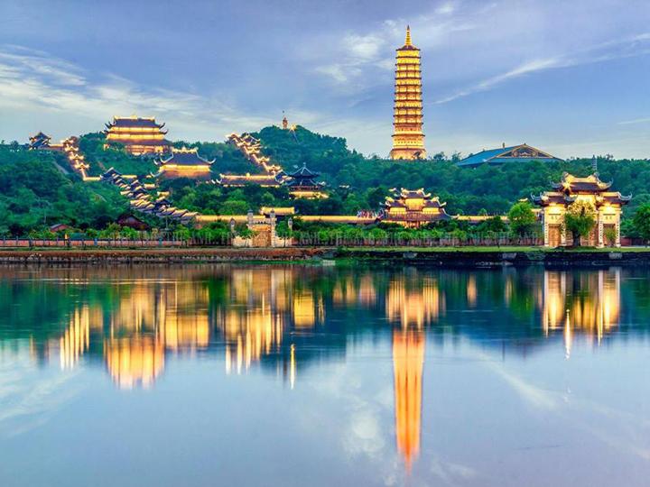 The Bai Dinh pagoda