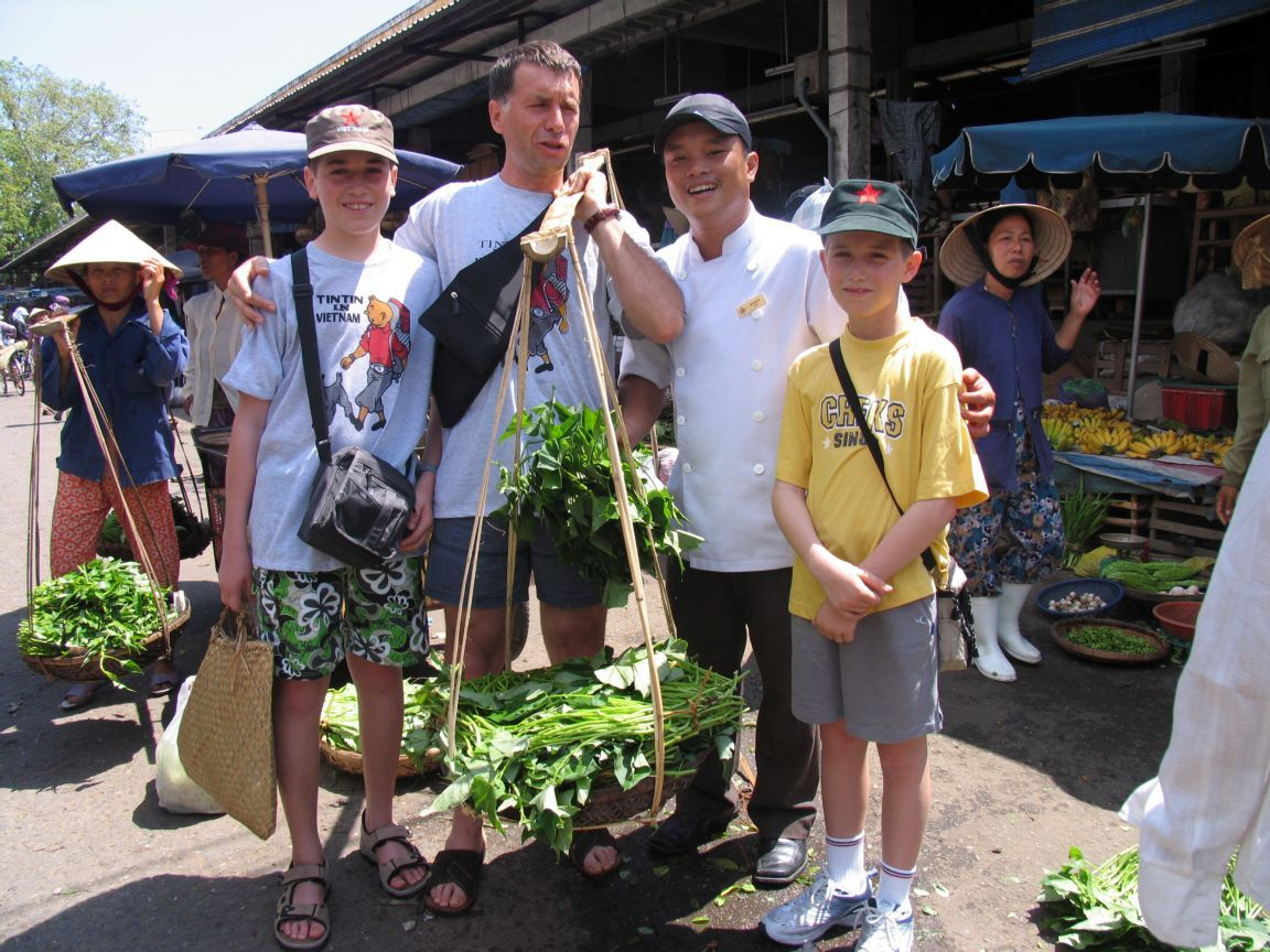 A visit to Hoian's market