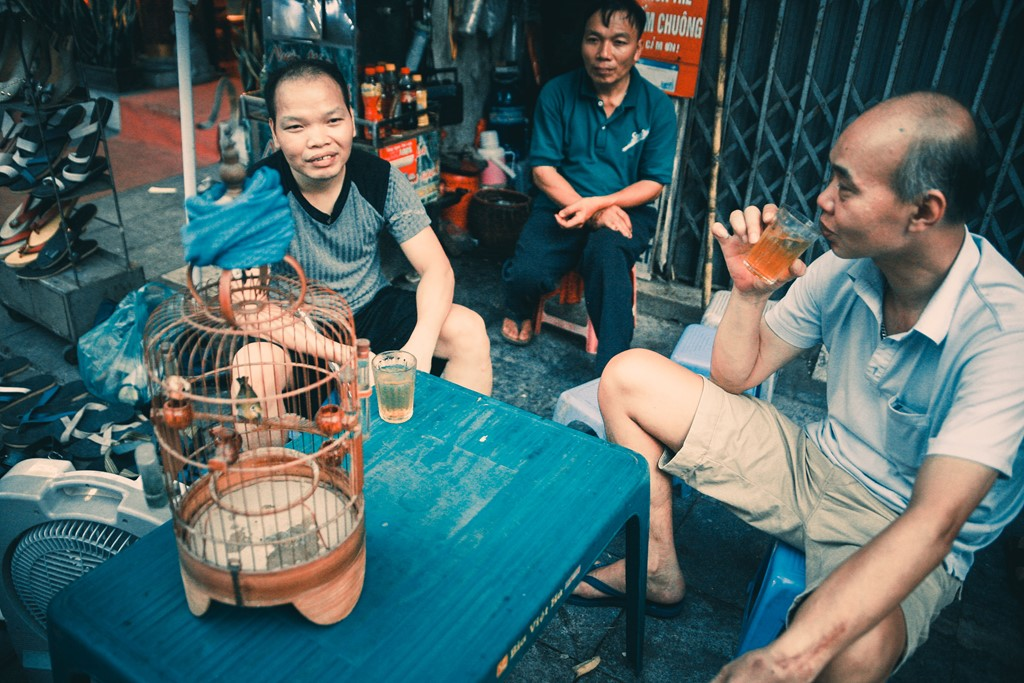 Discovering iced tea culture in Vietnam