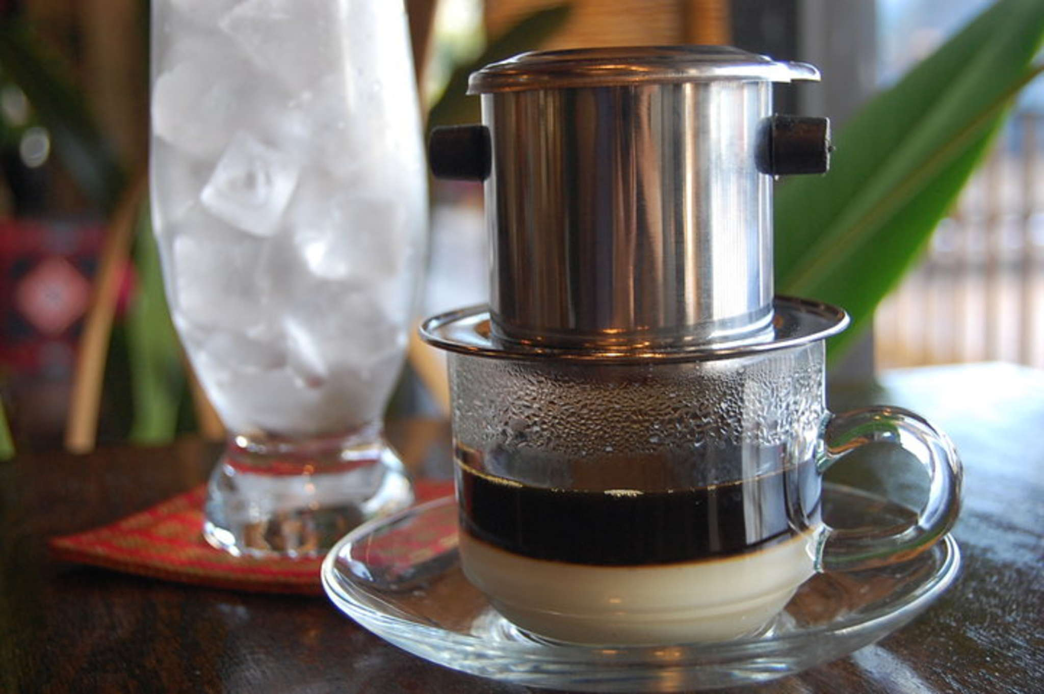 Phin filter coffee