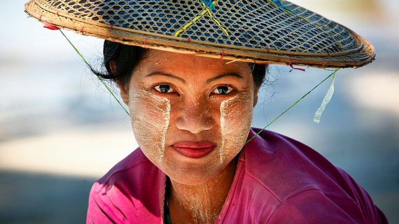 Thanaka, traddition beauty and culture of Burmese