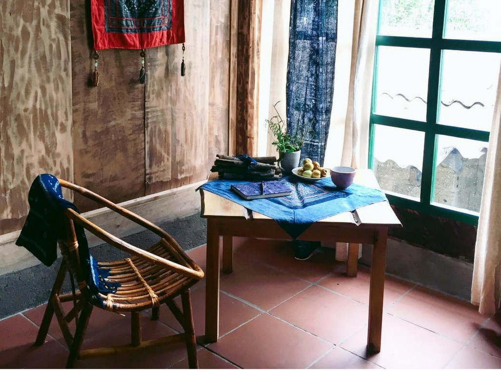 A unique corner of Phori's House where you can enjoy a cup of tea