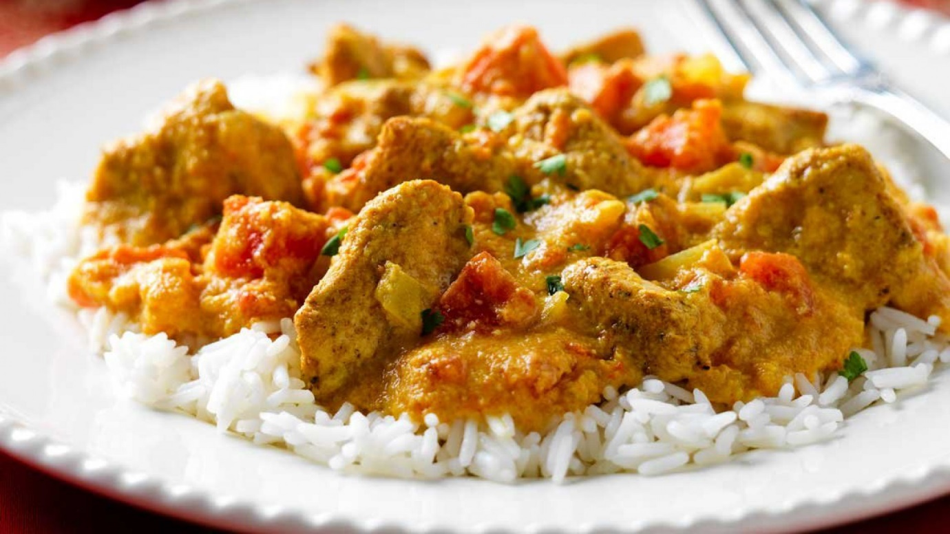 Indian-styled curry