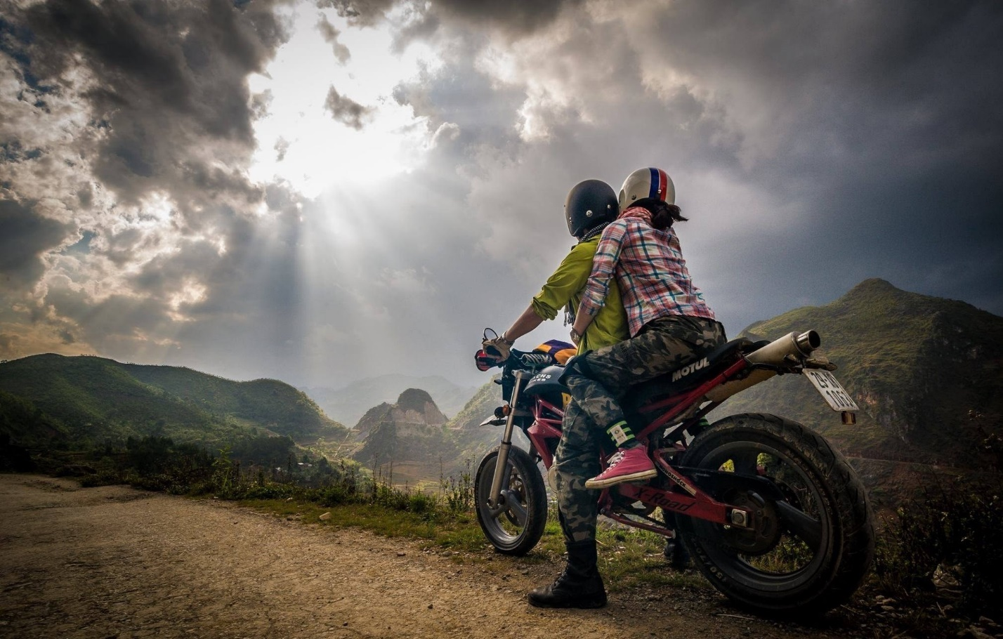 Motorbike is an ideal vehicle for you to explore Sapa