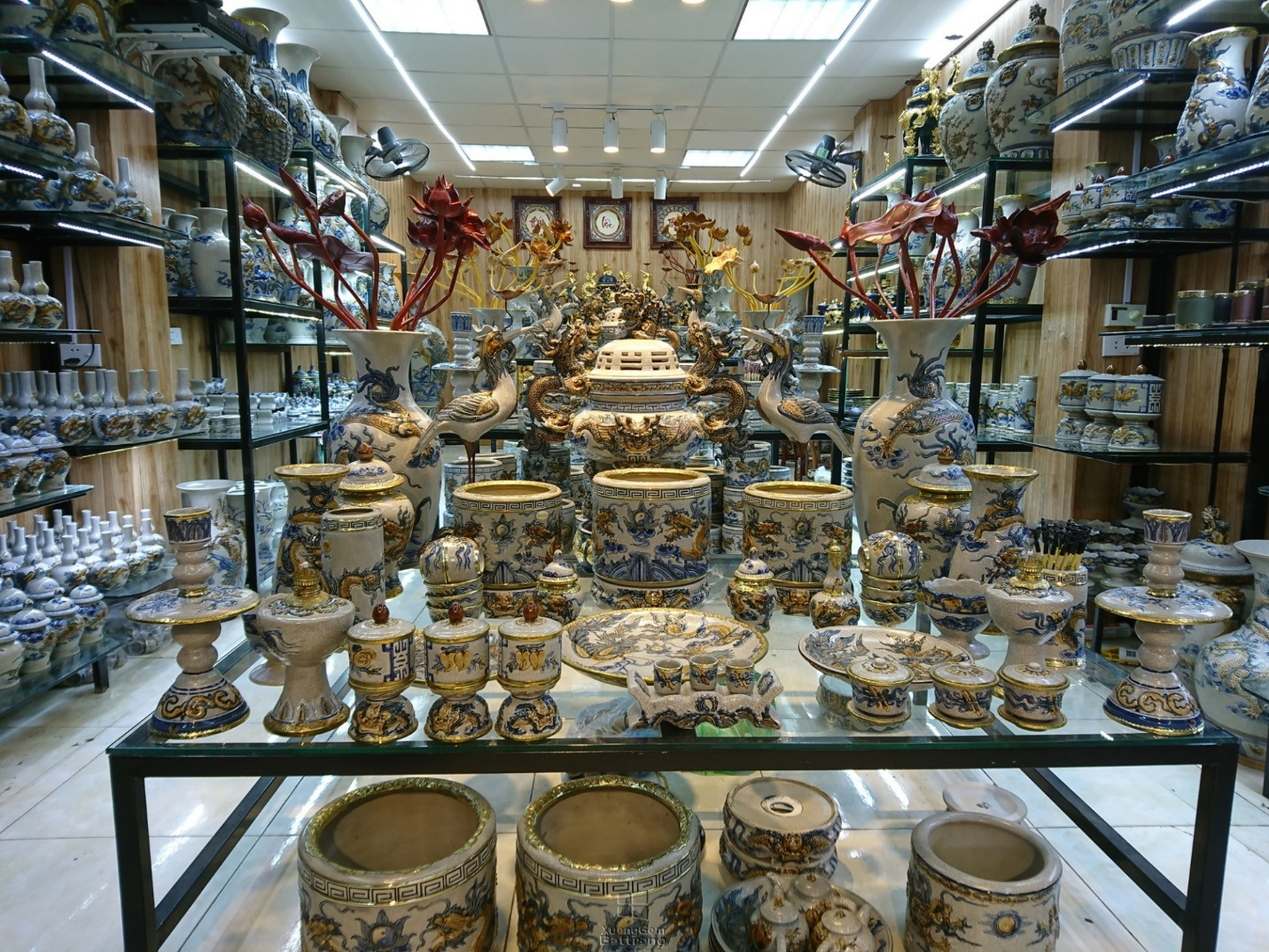 The sophistication of pottery in Bat Trang