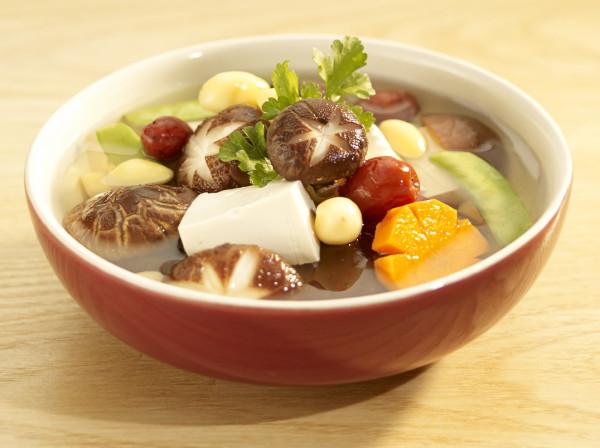 Enjoying a vegetarian dish in Minh Chay is wonderful
