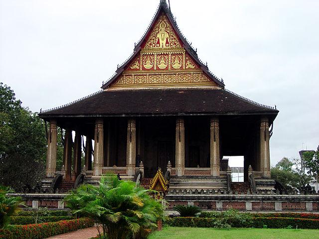 Ho Prakeo temple in Vientiane