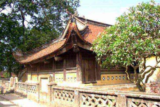 Tho Ha temple - a unique architectural art