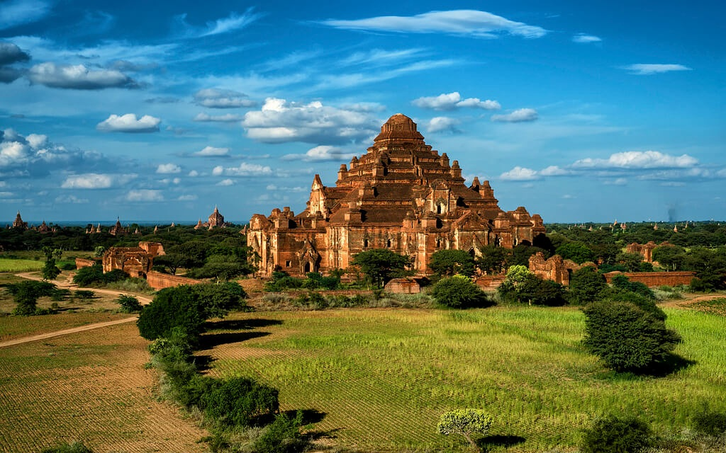 Mysterious things about temples in Myanmar