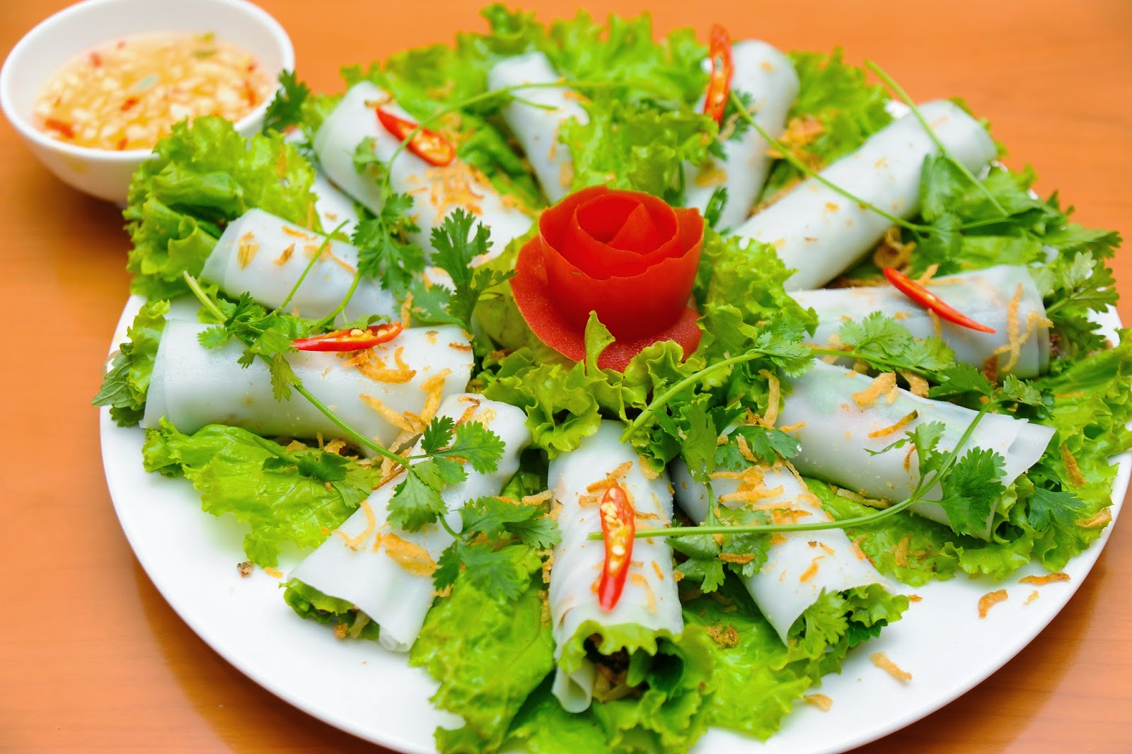 Pho Cuon- special food of Hanoi