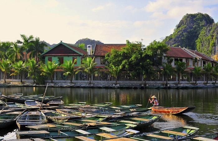 A village in Tam Coc