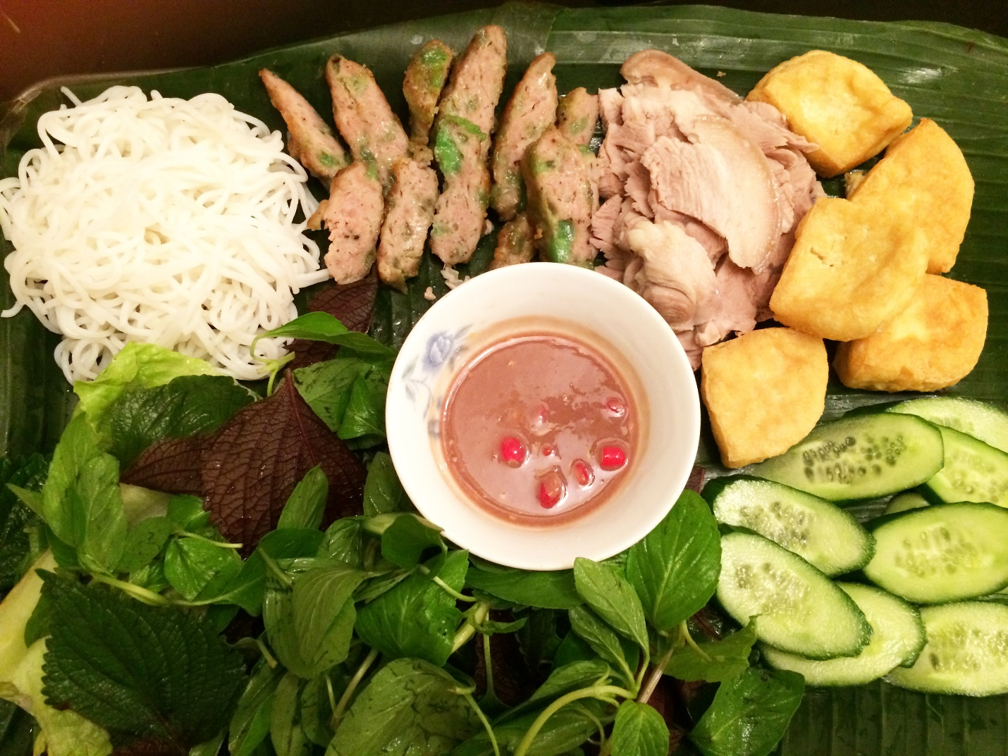 Bun Dau Mam Tom- special food of Vietnam