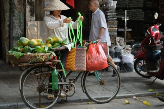 Old Quarter is a must-visit in Hanoi