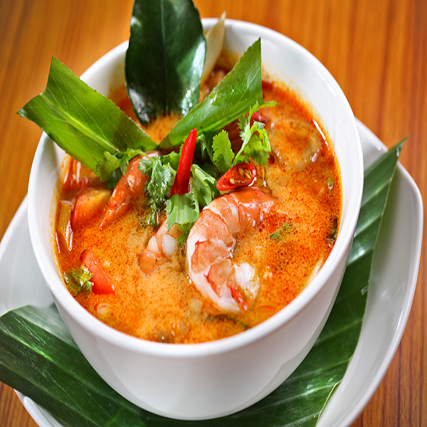 The chilli taste of Tomyum - a unforgetable street food in Thailand for tourists