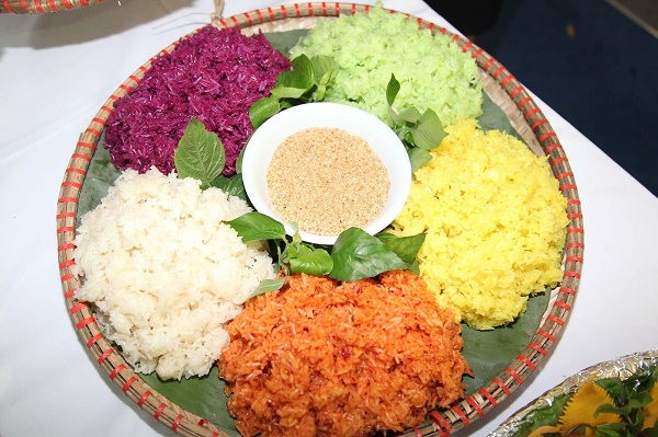 5-color sticky rice