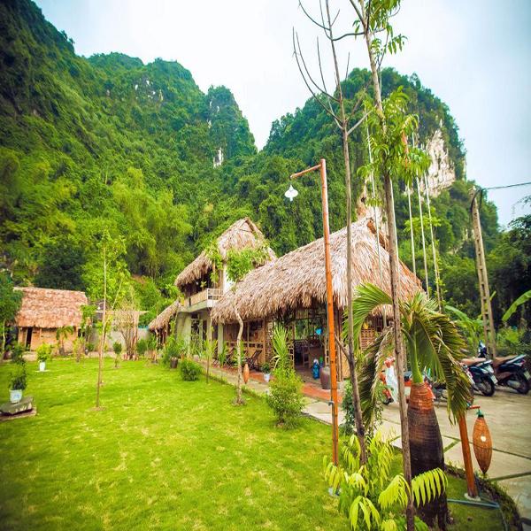 Tam Coc rice field resorts in Ninh Binh
