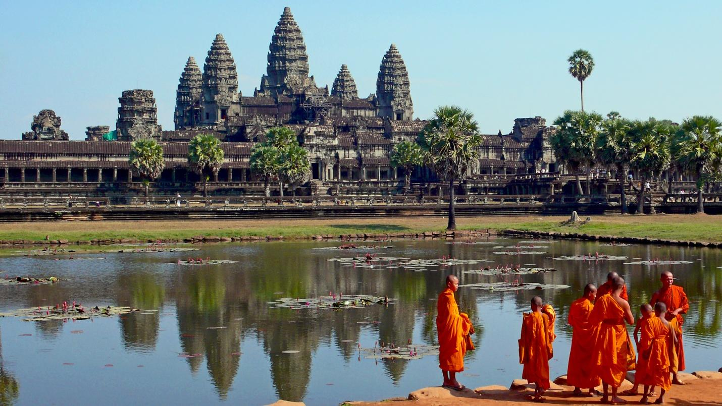 The beautifil pristine picture in Siem Reap