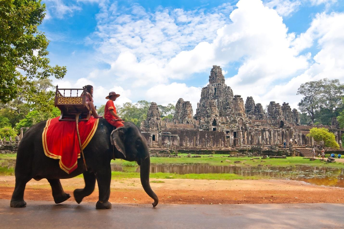 The pristine beauty of Siem Reap