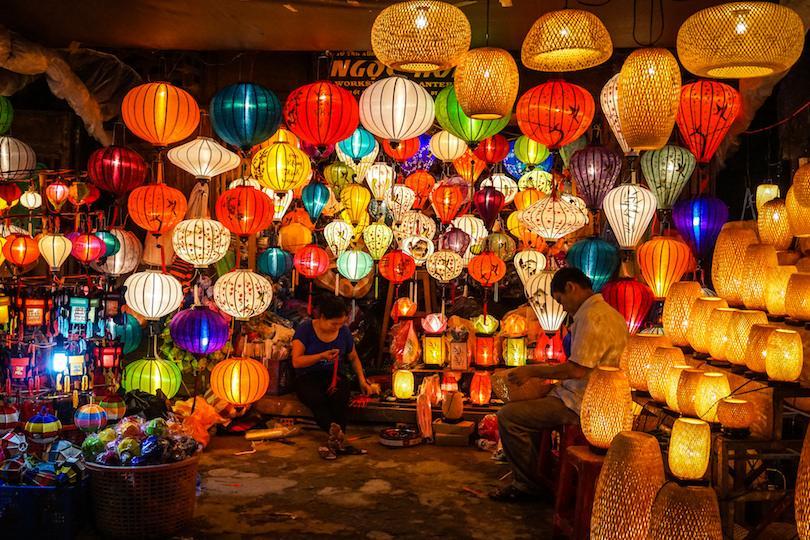 Hoian's lantern street