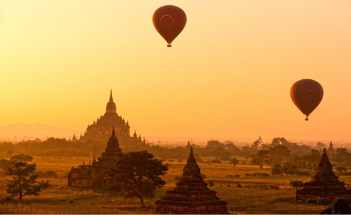 The Balloons over Bagan
