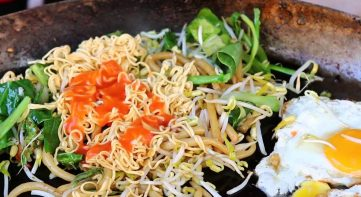 Fried noddles – local life