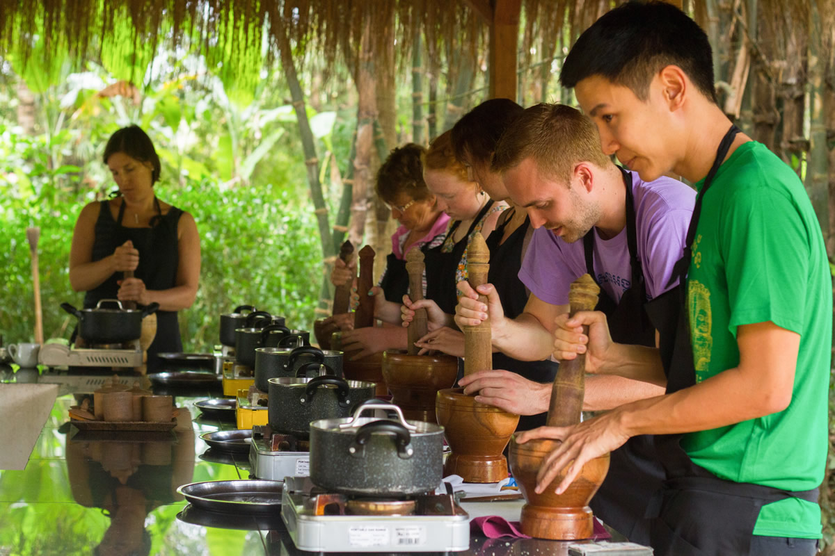 A Cambodian cooking class – a culinary exploration with some of the finest chefs