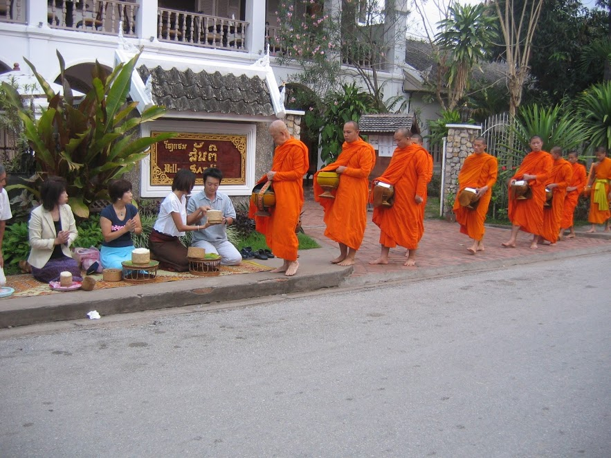 Things you should know about Alms Giving Ceremony in Laos