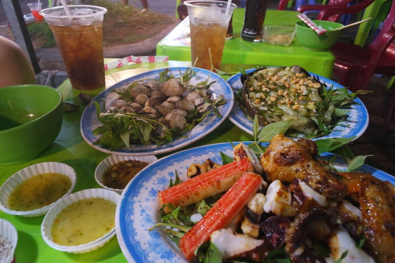 Some seafood dishes