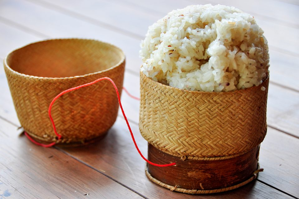 The Lao eat more sticky rice than any other people in the world