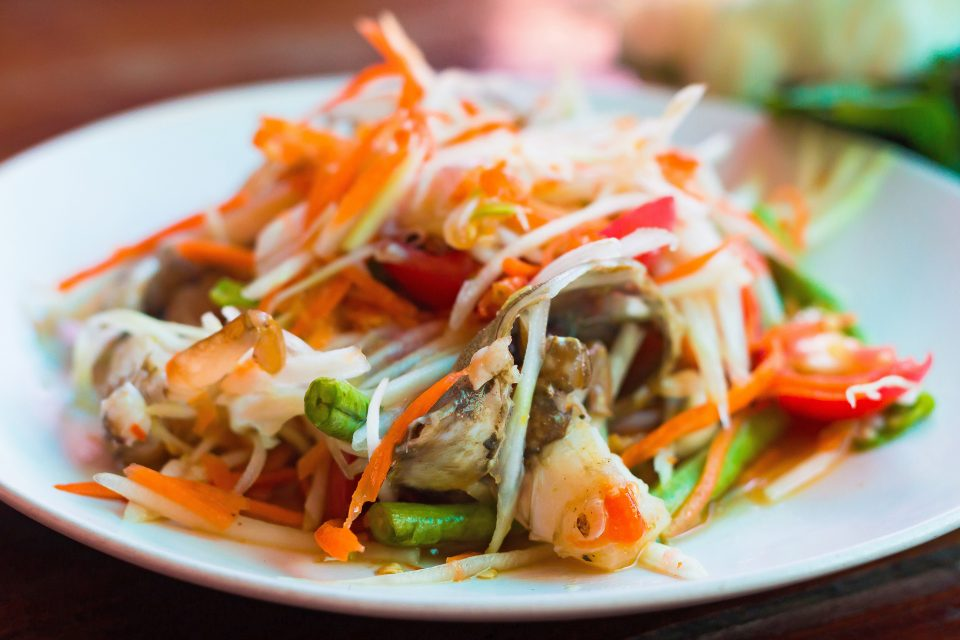 This fiery salad is the essence of Laotian cuisine