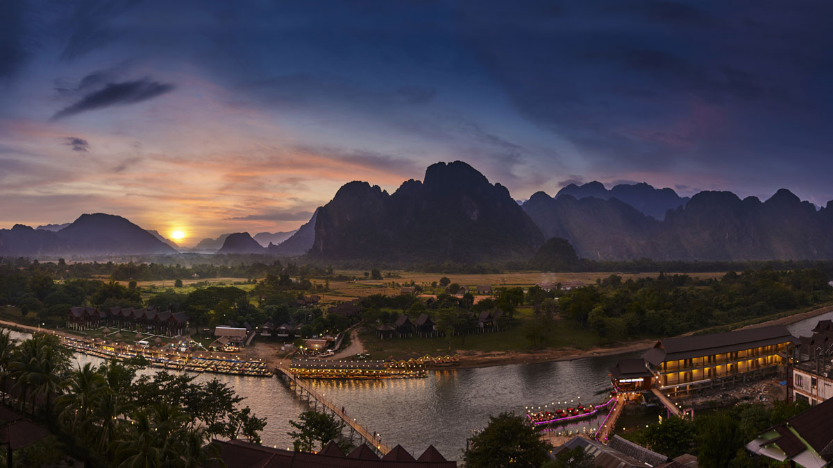 Vang Vieng - a hub for adventure and outdoor sports