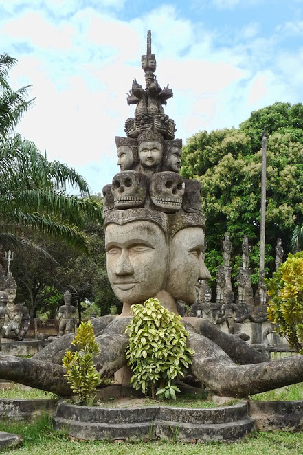 Budha Park in Vientiane