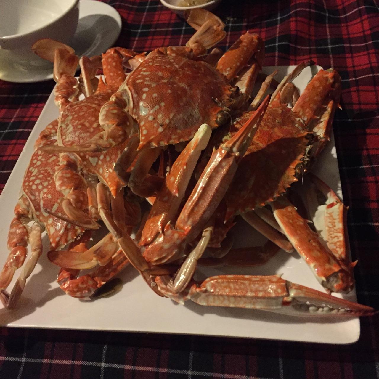 Fresh & tasty crab