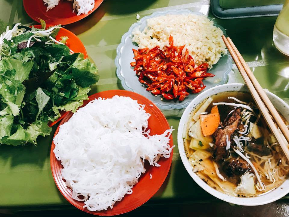 One of the most attractive dishes in Hanoi