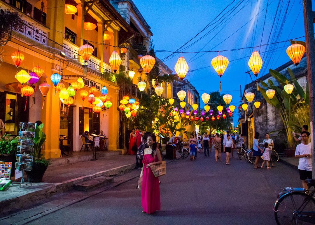 The ancient town Hoi An