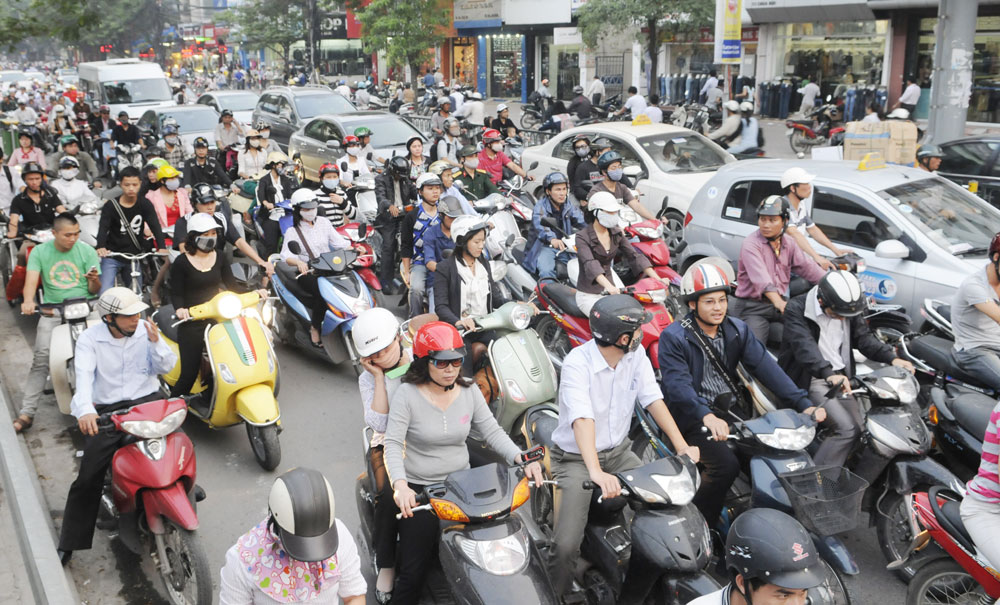 traffic-in-Vietnam
