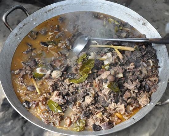 Sapa's traditional dish - Thang Co